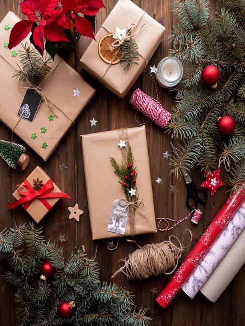 Zabalené vianočné darčeky