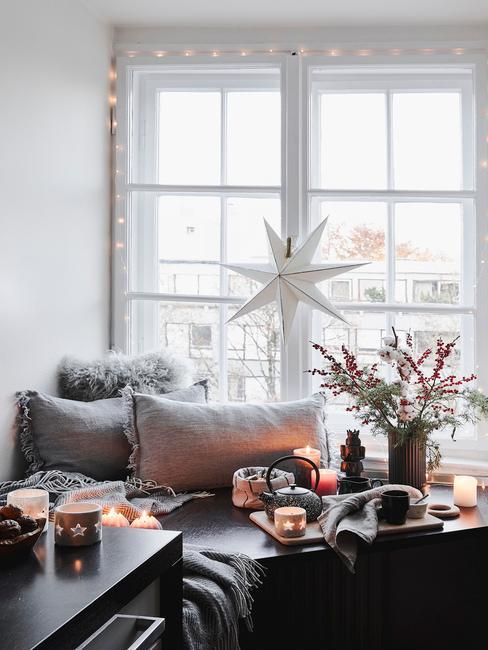 Vianoce: výzdoba interiéru