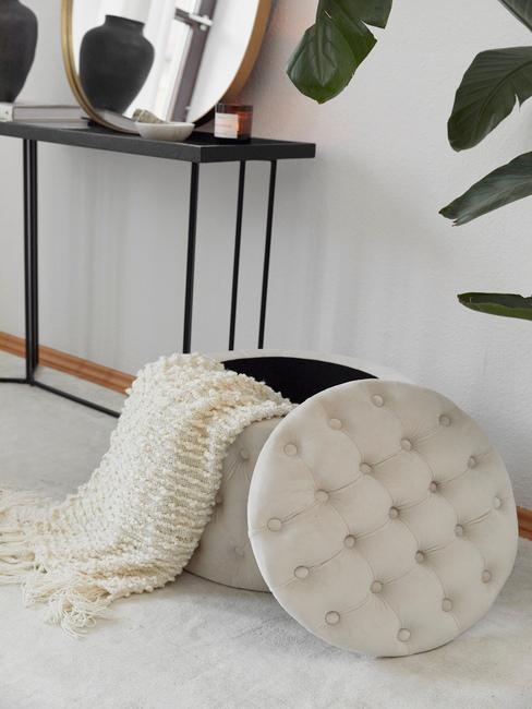 Úložný priestor v obývacej izbe