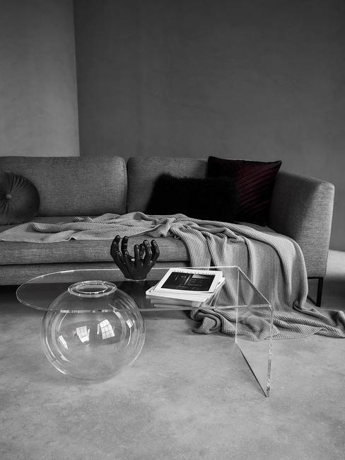 Akrylový transparetný stôl