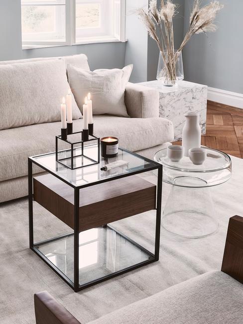 Akryl v obývacej izbe