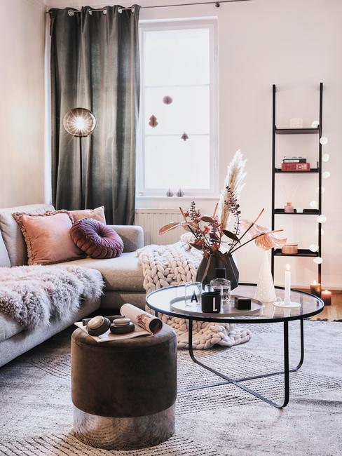 Útulné zariadenie obývačky