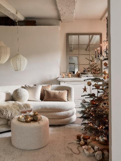 farba vianoc 2021: naturálne Vianoce