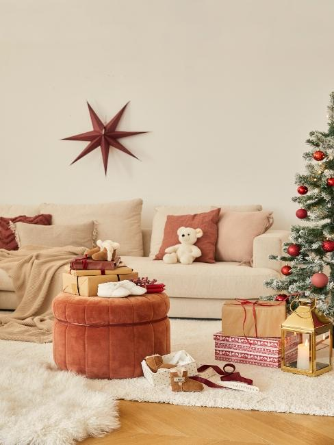 vianočné dekorácie vyrobené doma