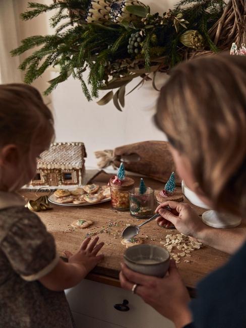 príprava na Vianoce s deťmi
