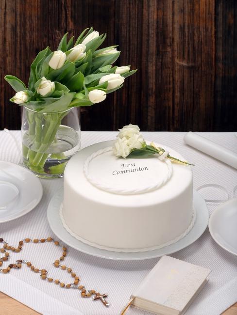 torta na prvé sväté príjimanie