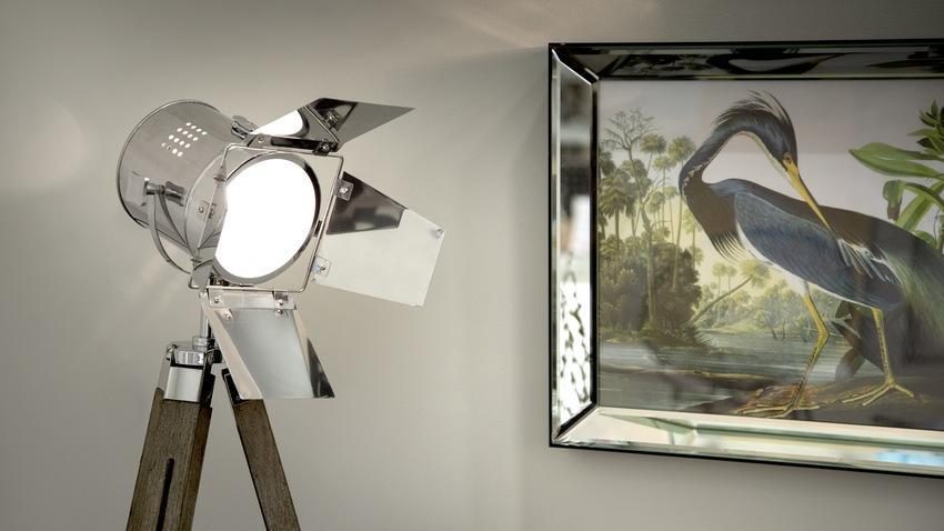 Stojací lampy do obýváku