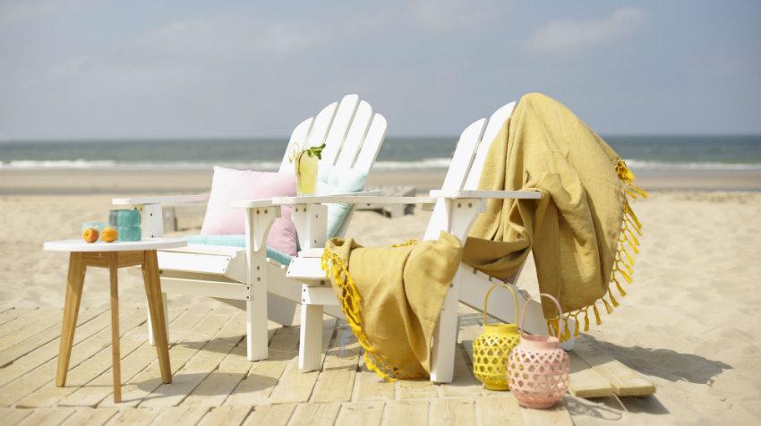 Plážové skládací židle