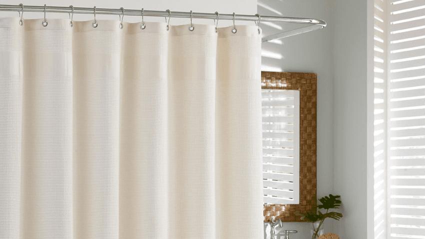 Sprchový závěs z bavlny