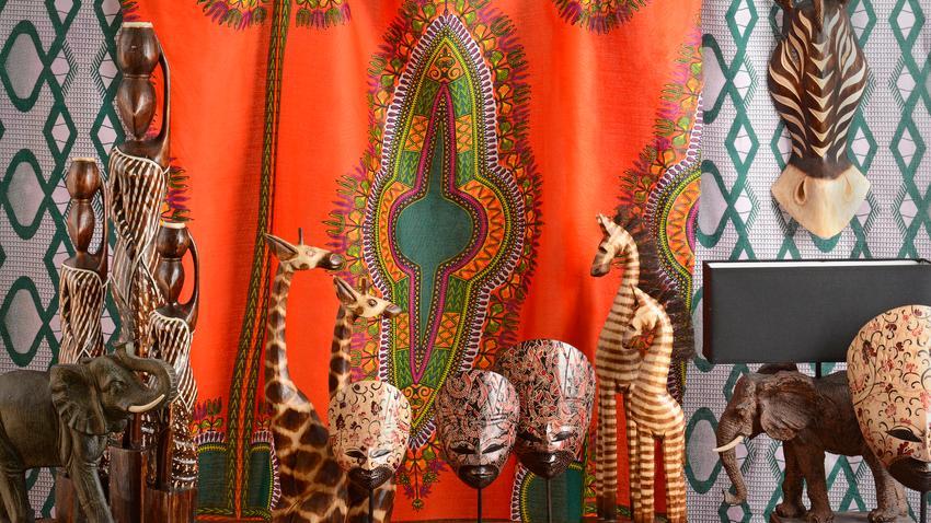Africké závěsy