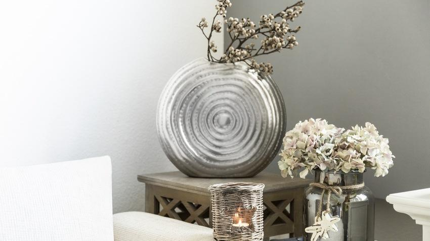 Stříbrné dekorace