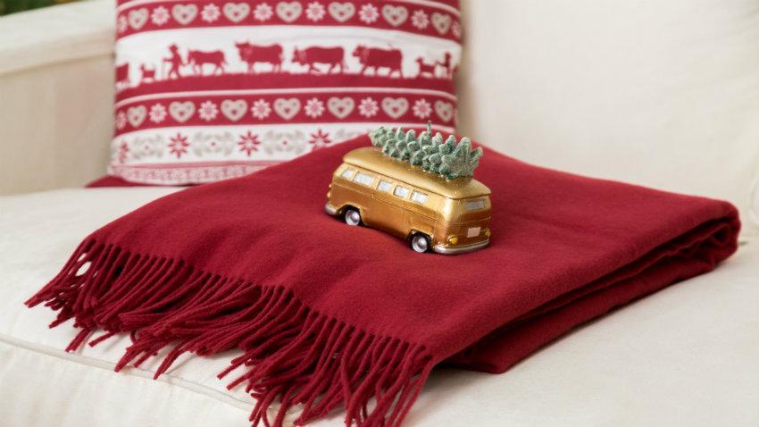 Vánoční deka