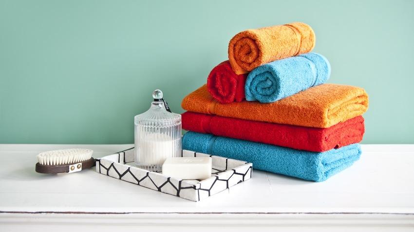 tyrkysová sada ručníků