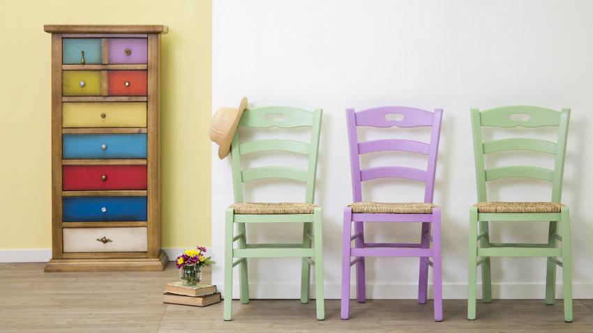 Zelená židle