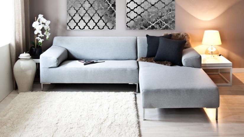 Bílý koberec