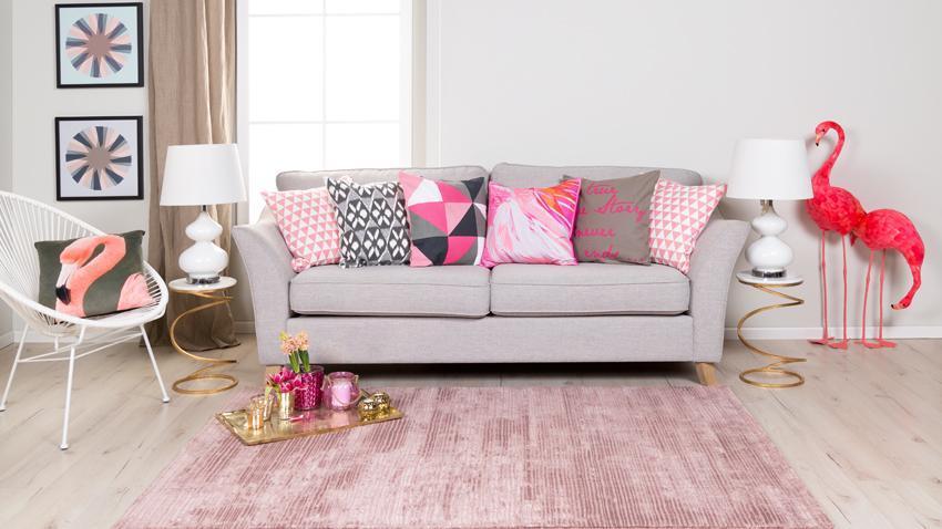 Růžový koberec