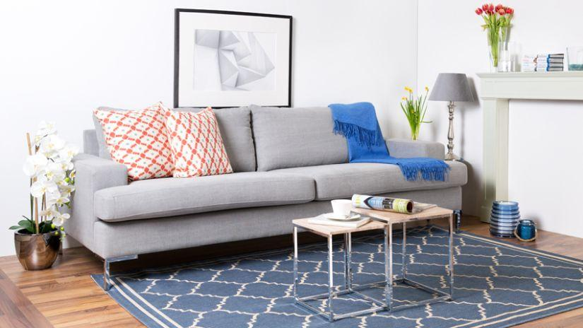 Teppiche Blau