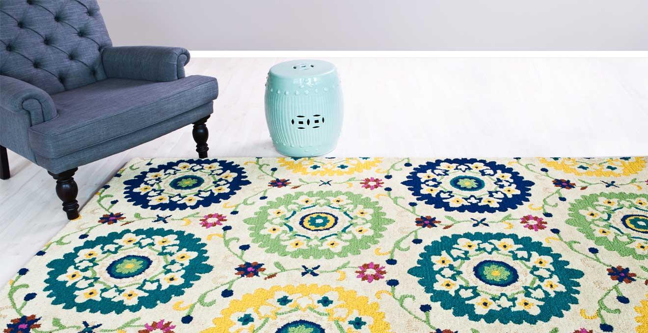 Teppiche Grün
