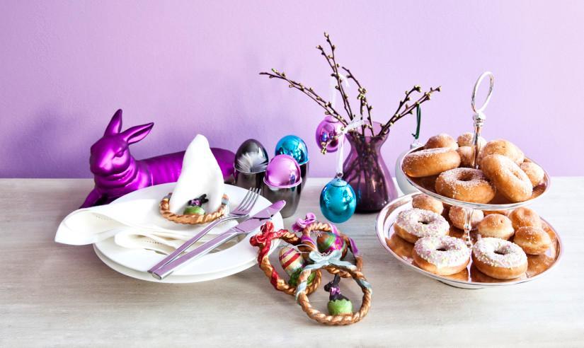 Ostergeschenke selber machen mit Kuchen und Keksen