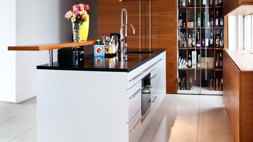 Küchenschrank Buche