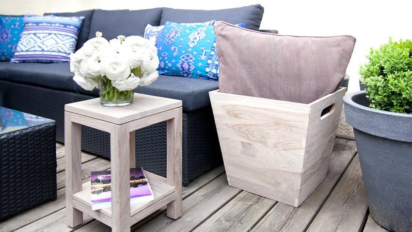 Gartenmöbel Kunststoff aus Polyrattan