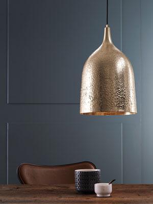 Markslöjd > goldene Lampe