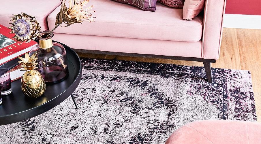 Vintage Teppich Wohnzimmer
