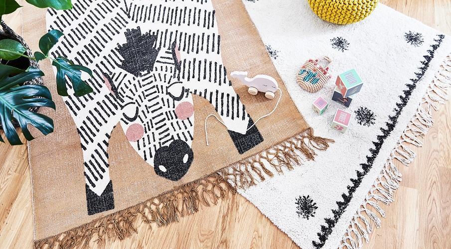 Waschbare Teppiche Kinderteppiche