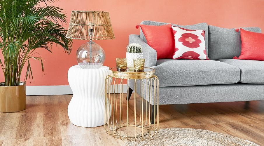 Couchtisch klein Set Deko Wohnzimmer Sofa
