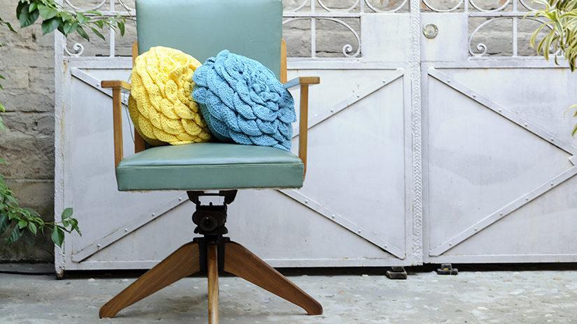 Cojines redondos para sillas