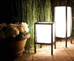 Luces de jardín, iluminación elegante