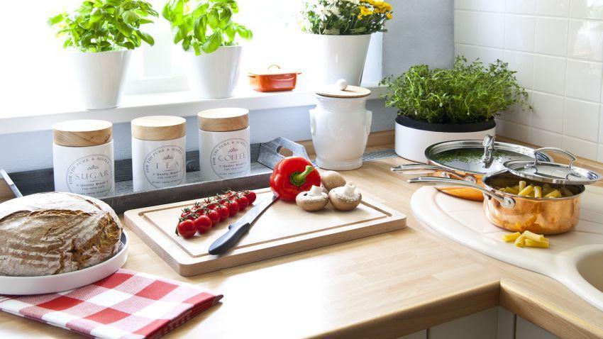 Cocinas pequeñas, prácticas y con encanto