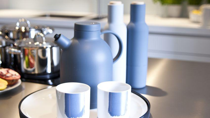 Muebles de cocina azules