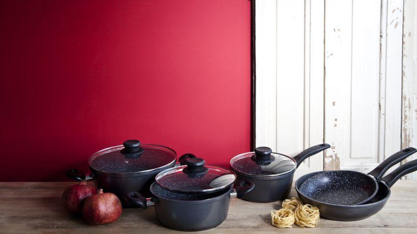 Muebles de cocina rojos