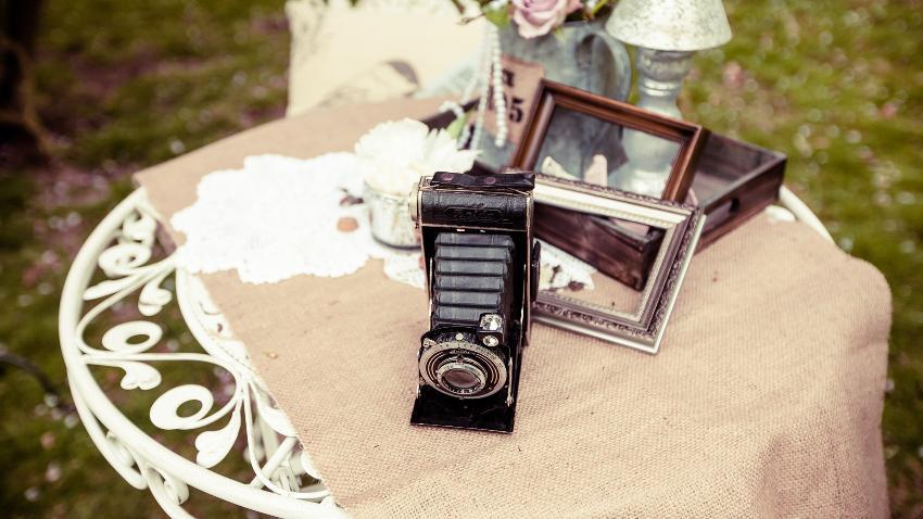 Instantáneas de una boda