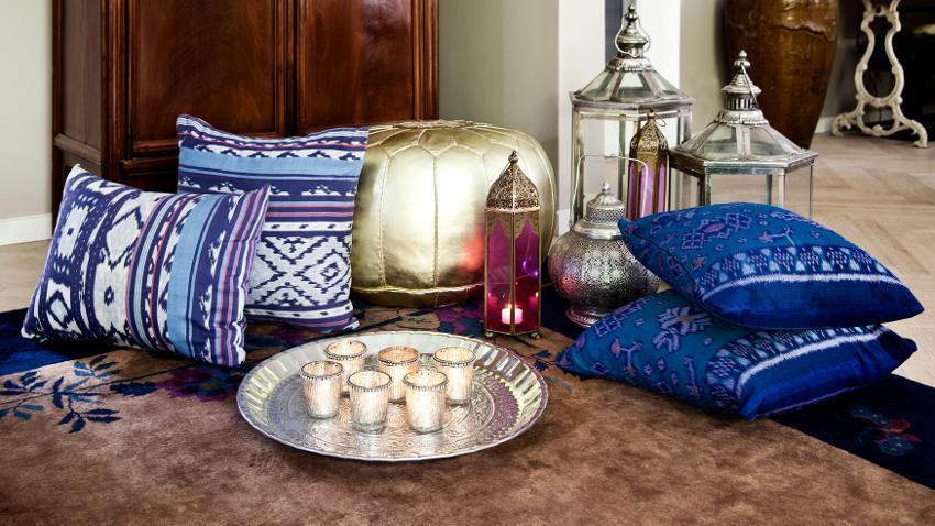 Cojines árabes