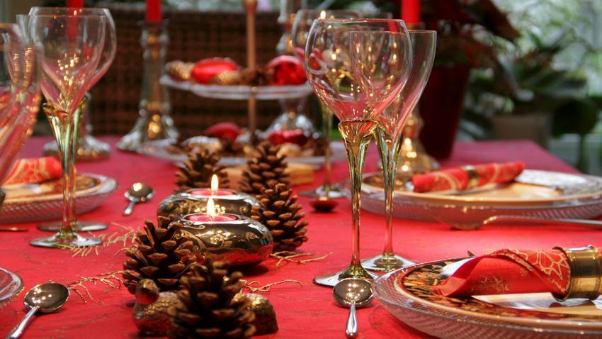 platos de navidad