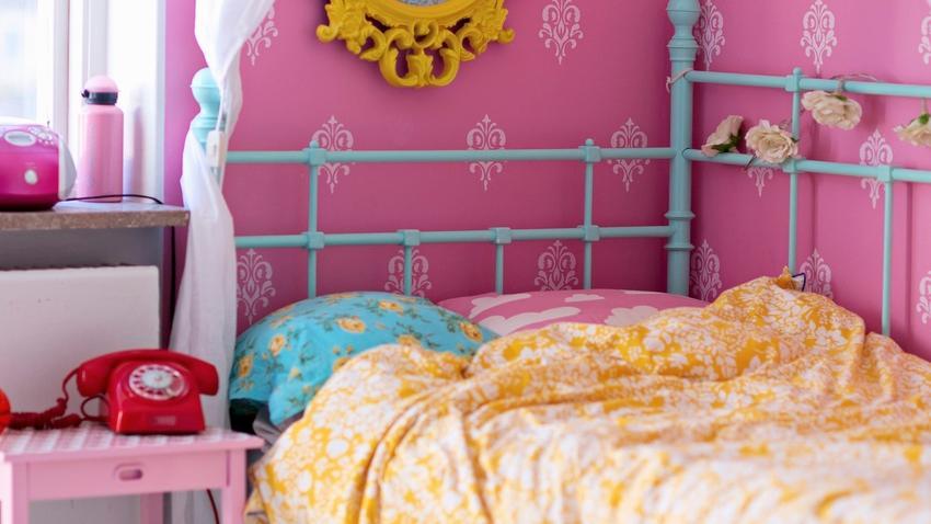 Dormitorio rosa, bellas ideas para decorar