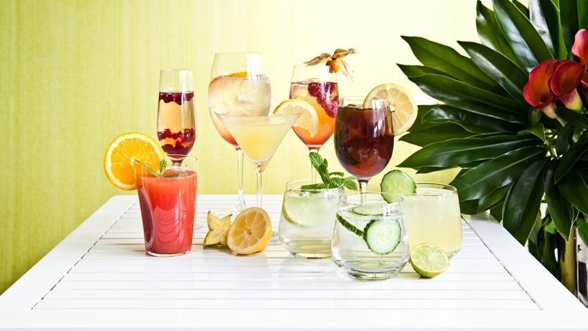 Copas de gin tonic