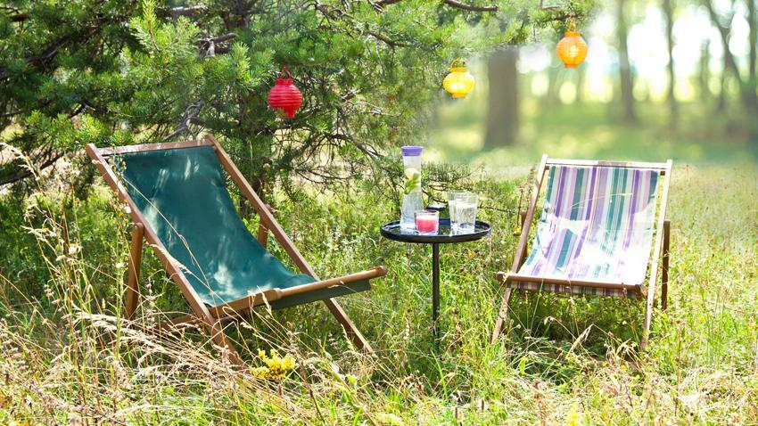 Tumbona de camping