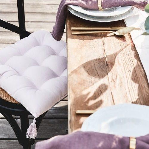 Cojines para sillas de jardín