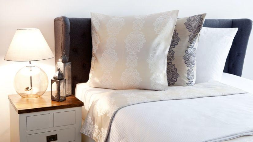 Parure de lit une place en satin