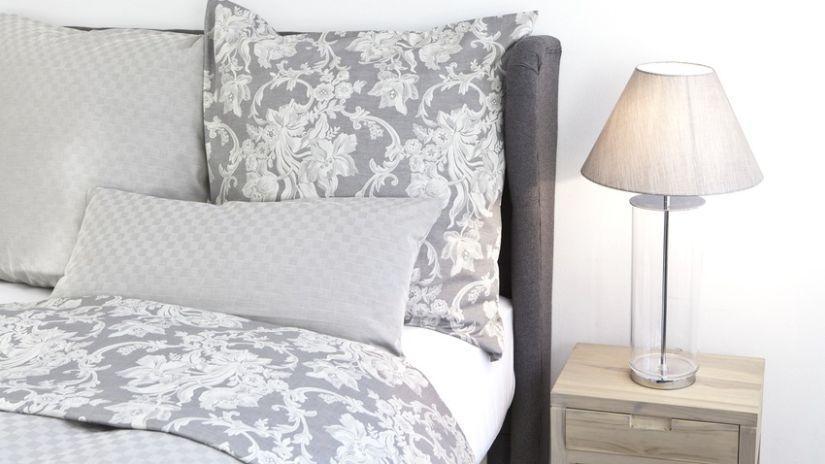 Parure de lit blanche 2 places
