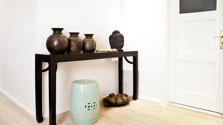 Vase marron