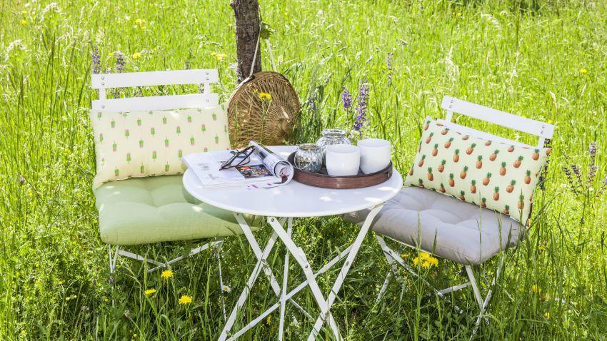 Chaise de jardin plastique