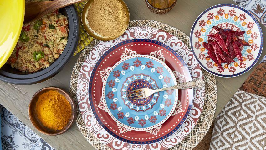 Assiette à couscous