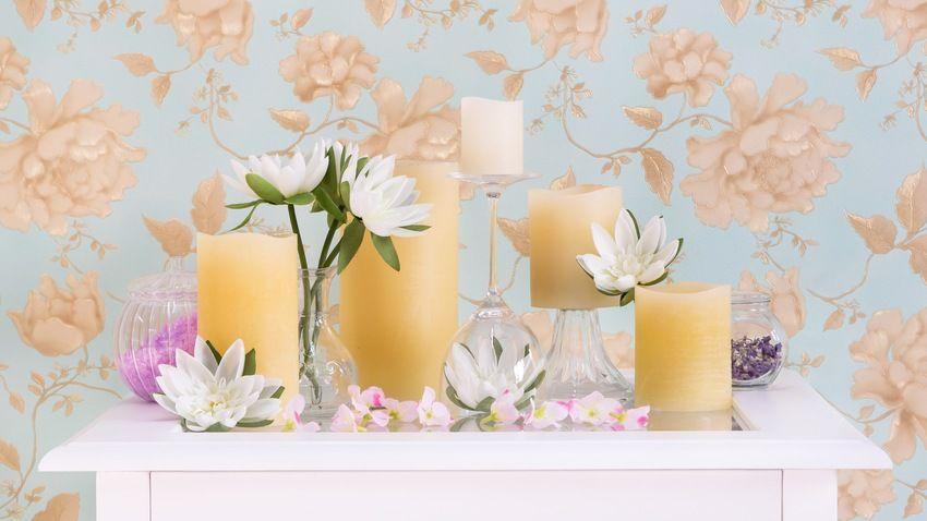 Bougies jaunes