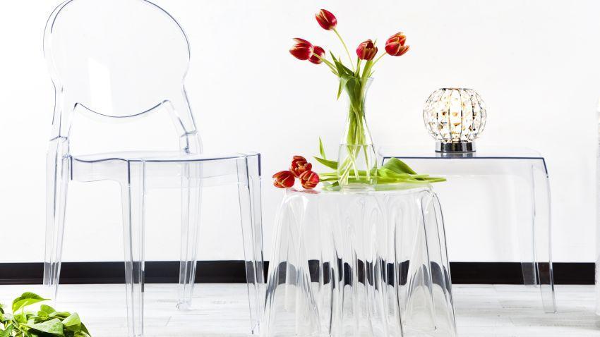 Tables transparentes