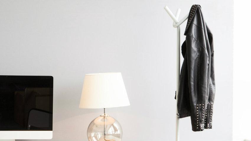 Porte-manteau perroquet
