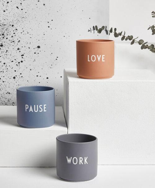 Mugs porcelaine